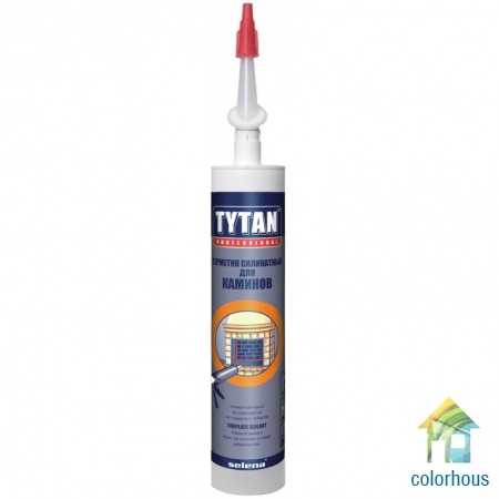 Титан Professional Fireplace Sealant герметик силикатный для каминов